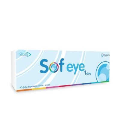 ซอฟ อาย (ใส) วันเดย์ - Sof eye 1 Day ( Clear Lens )